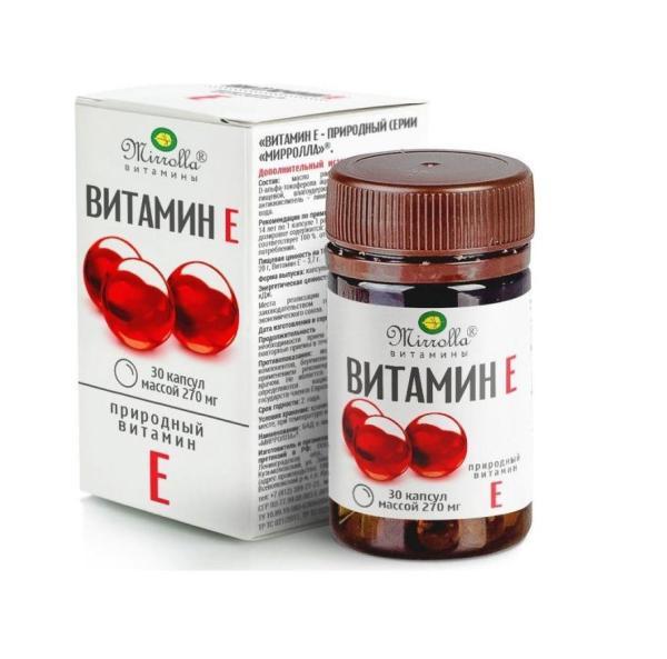 Vitamin E Mirrolla Dạng Hủ 30 Viên tốt nhất