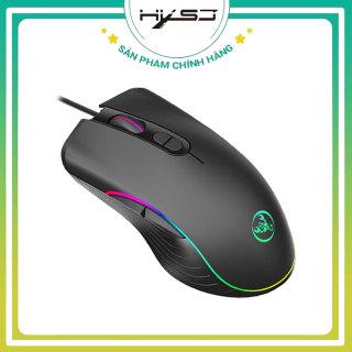 Chuột máy tính chơi game HXSJ A867 ,hiệu ứng ánh sáng 7 màu , DPI 4 cấp độ phù hợp cho game thủ và văn phòng- HÀNG CHÍNH HÃNG BẢO HÀNH 12 THÁNG thumbnail