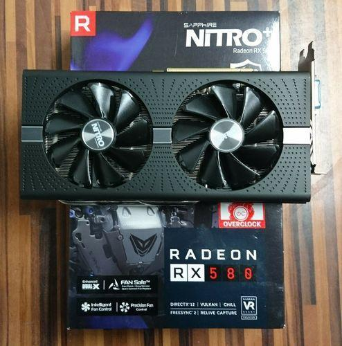 VGA Card Màn Hình AMD Sapphire RX580 8GB Nitro+ Box BH 2020