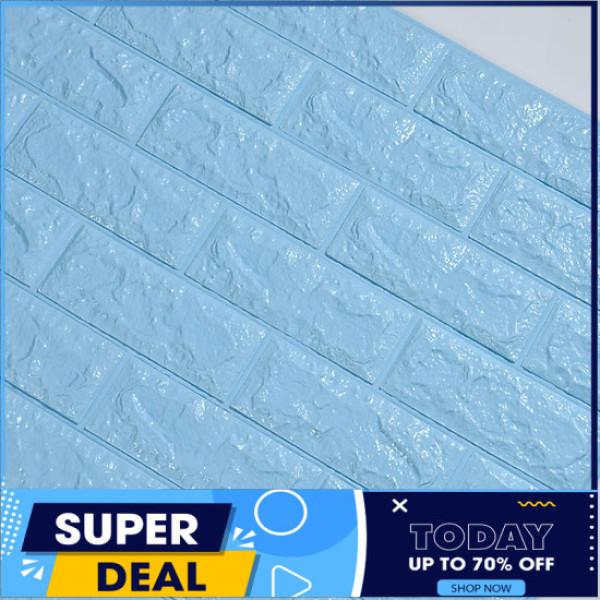 ( Chọn màu) Combo 10 tấm Xốp dán tường, tấm Xốp Dán Tường 3D Giả Gạch Bóc Dán / Chịu lực, chống nước, chống ẩm mốc / Tấm xốp giả gạch 70x77cm