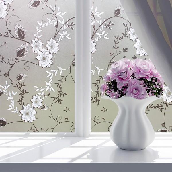 [Lấy mã giảm thêm 30%]Giấy dán kính phòng tắm phòng khách che ánh sáng cửa số [khổ 60cm] - HPGLASS Hình ảnh sắc nét bền đẹp không bay màu