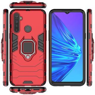 Ốp lưng chống sốc Iron Man cho Realme 5i Realme 5s Realme 5, kèm Iring tiện lợi, bo viền mặt trước máy 360 độ thumbnail