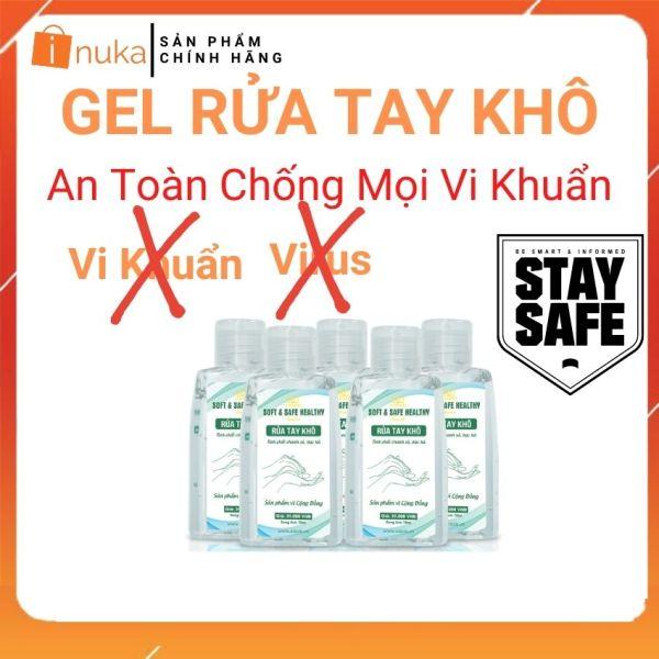Gel Rửa Tay Khô Bảo Vệ Vượt Trội 99% - Xdoris ( 70ml-150ml ) inuka.store