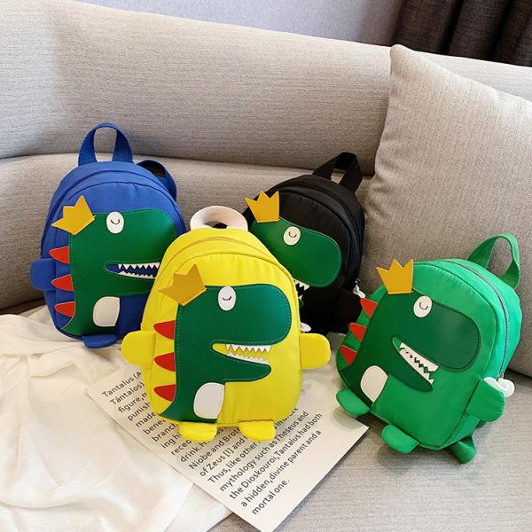 Ba lô cho bé FUHA - cặp sách in hình khủng long phong cách Hàn quốc cho bé 1 đến 5 tuổi