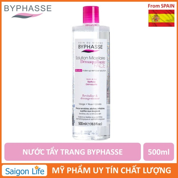 Nước Tẩy Trang Byphasse Micellar Make-up Remover Solution 500ml