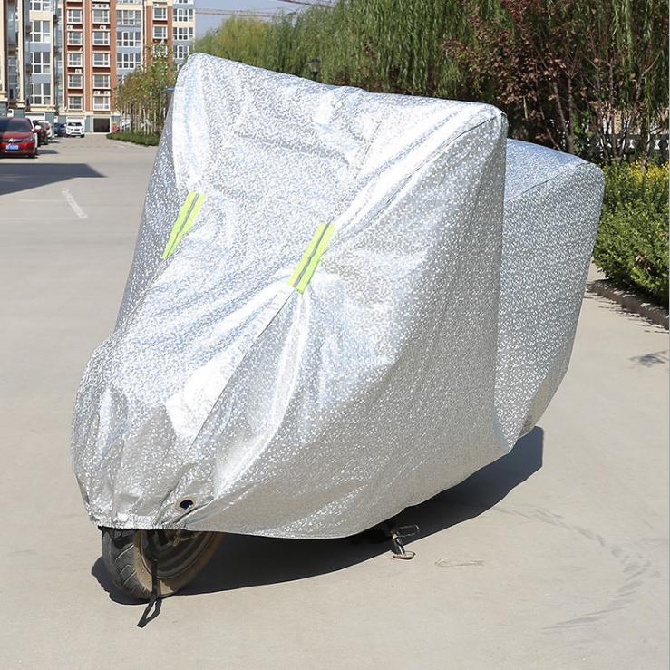 Bạt phủ xe máy bạt trùm xe máy loại dày xịn có phản quang cảnh báo OXM1 size to vừa được SH