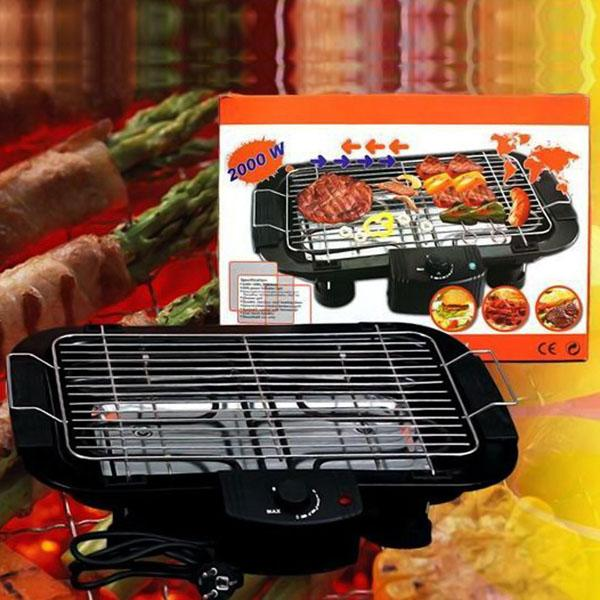 Bếp Nướng Điện Không Khói Electric Barbecue Grill 2000w Loại Cao Cấp - Mai Anh Clover