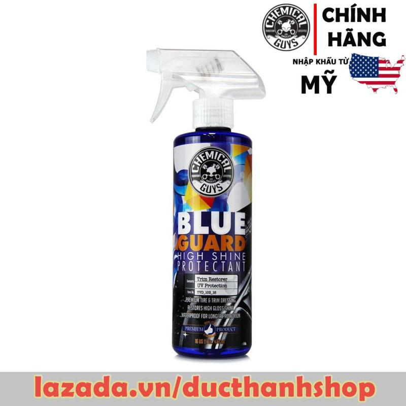 Bảo dưỡng phục hồi độ mới, bóng cho nhựa và cao su Chemical Guys Blue Guard II Wet Look Premium Dressing 16oz 473ml