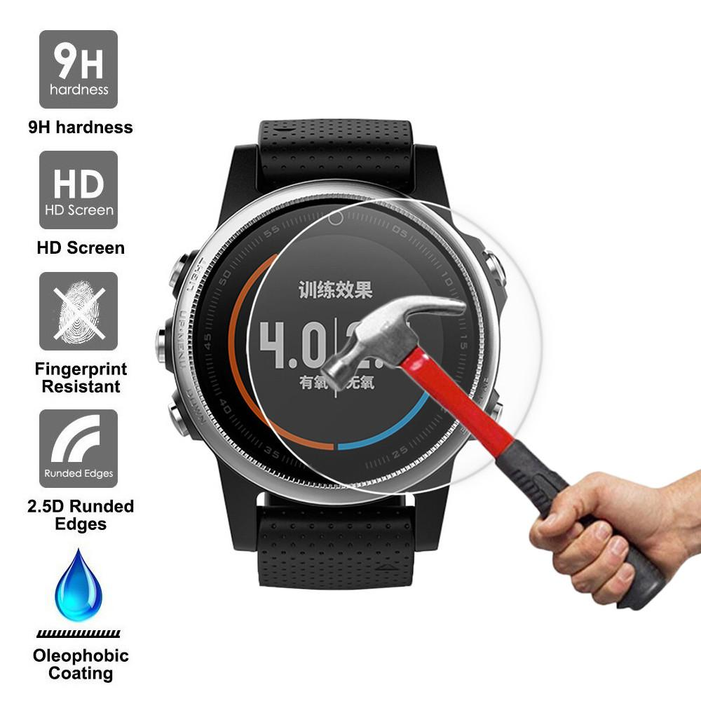 9H Tempered Glass Screen Protector Protective Film for Garmin Fenix 5S GPS Watch Malaysia