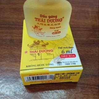 Dầu Gừng Thái Dương 6ml thumbnail