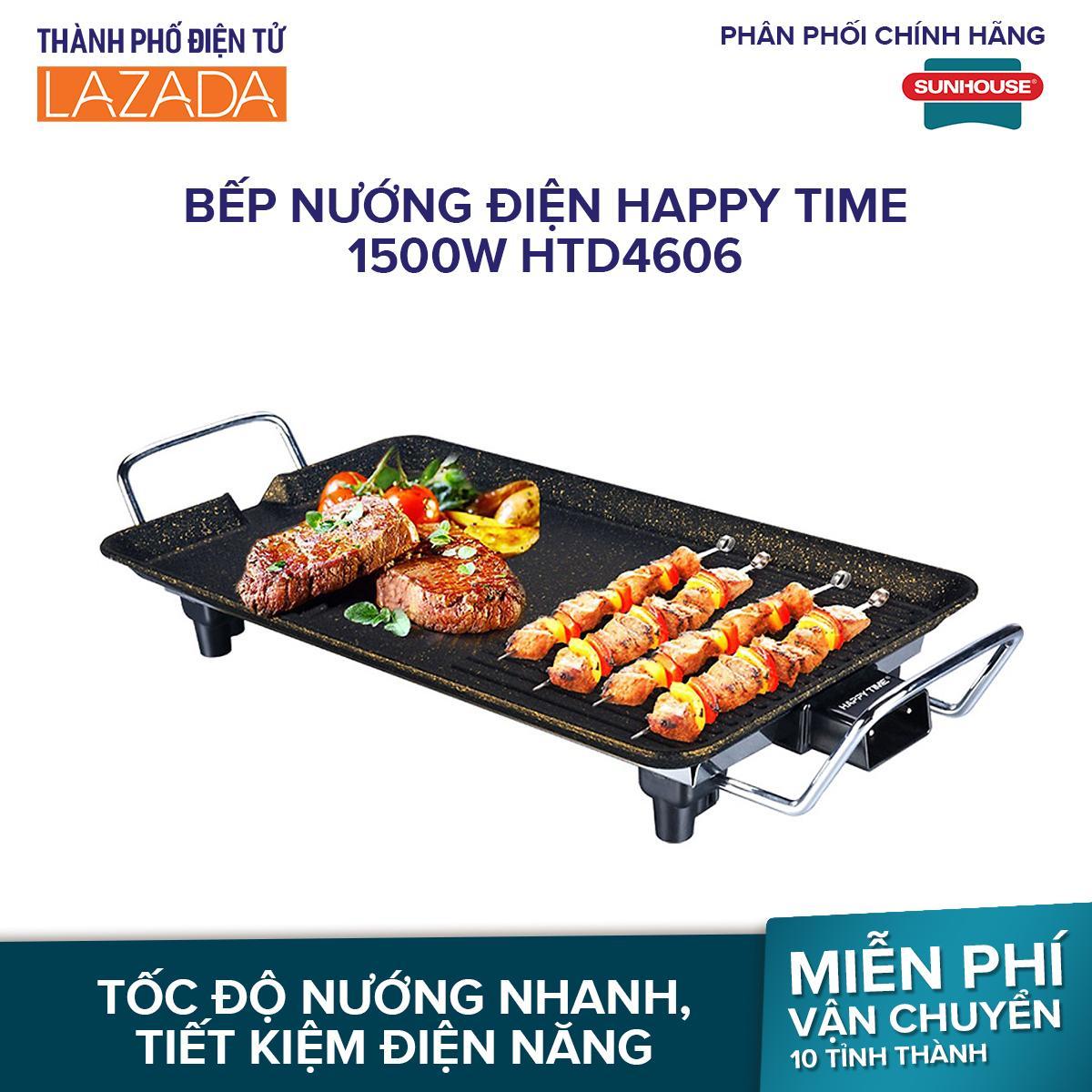 Bếp nướng điện Happy Time 1500W HTD4606