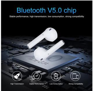 Tai Nghe Bluetooth i11S Nút Cảm Ứng Chip Pro 5.0 Cửa Sổ Kết Nối Pin Trâu , Tai Nghe Bluetooth Mini Không Dây, Tai nghe Bluetooth Không Dây, Tai nghe nhạc hay 7