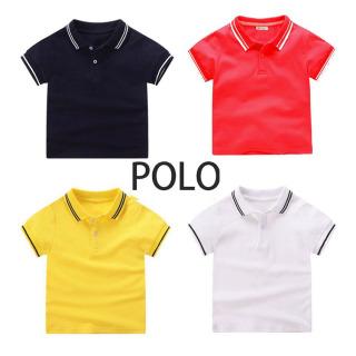 TANOSA Áo Polo trơn cho bé trai 8-25kg thumbnail