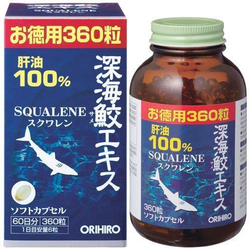 Viên uống sụn vi cá mập Orihiro 360 viên - Nhập Khẩu chính hãng Nhật Bản - Hỗ trợ sức khỏe xương khớp và tim mạch