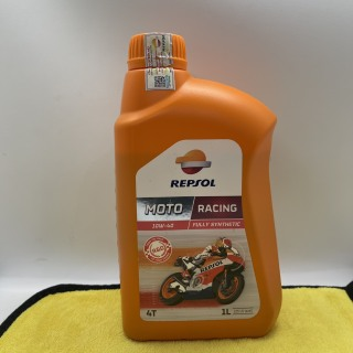 Nhớt Repsol Moto Racing 10W-40 Full Synthetic Api SN thumbnail