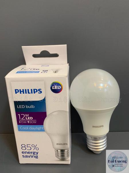 Bóng đèn LED Bulb 12w E27 Philips HV 1PF/20 GMGC  (Trắng/Vàng)