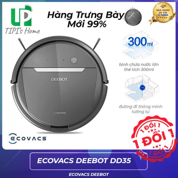 [Mới 100%] Robot Hút Bụi Lau Nhà Ecovacs Deebot DD35 Ozmo600 Trưng bày mới 99%, Sử Dụng Remote, Hỗ trợ tư vấn 24/7, dễ sử dụng- Bảo Hành 12 Tháng Tại - Tphome