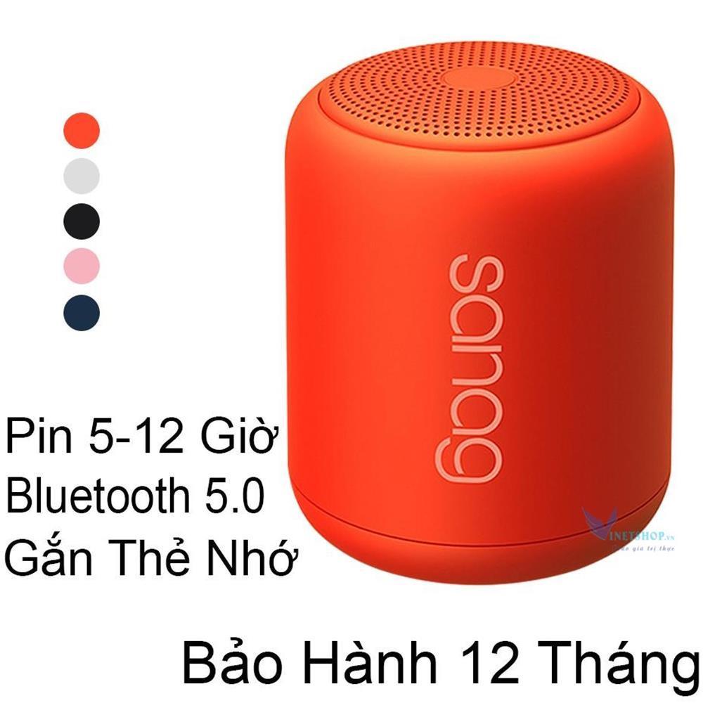 Loa bluetooth 5.0 sanag x6 - loa sanag nhỏ gọn tiện lợi, loa mini - chống nước - âm thanh cực chuẩn microphone hỗ trợ đàm thoại nghe nhạc 12h