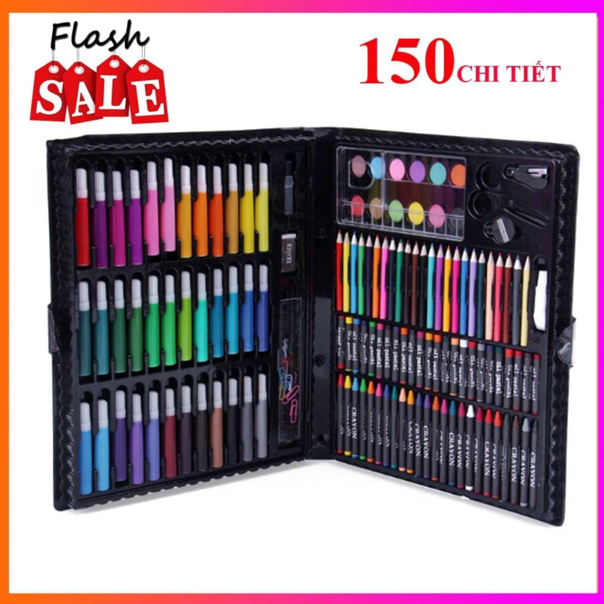 Mua Hộp bút màu 150 chi tiết cho bé yêu