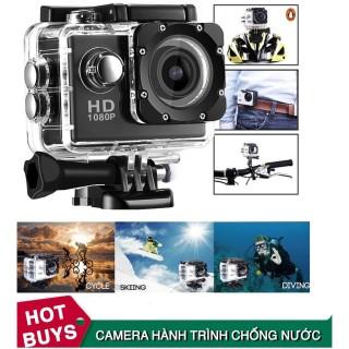 Camera Hành Trình, Camera Hành Trình Sport Cam Hd 1080P, Thiết Kế Để Gắn Lên Các Vị Trí Như Mũ Bảo Hiểm, Dòng Xe Máy, Xe Đạp, Trên Ôtô, Bảo Hành 12 Tháng. thumbnail