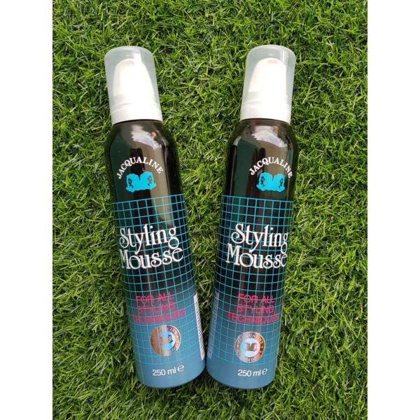 Mousse xịt tóc Jacqualine, Styling Mousse chải tóc cho nam nữ, tạo nếp và giữ tóc cố định giá rẻ