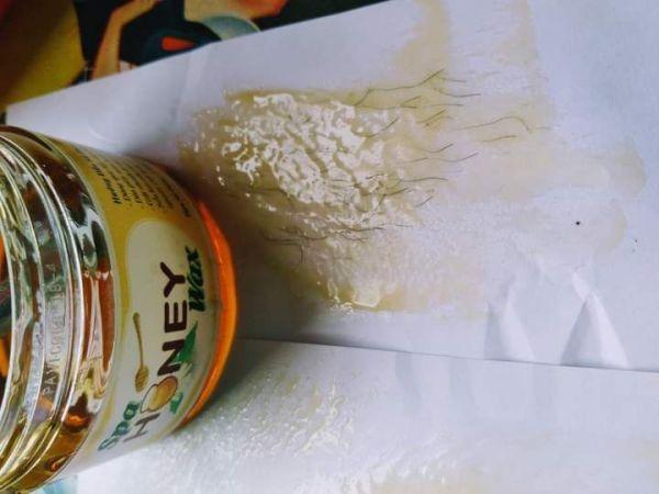 wax lông kèm mỡ trăn