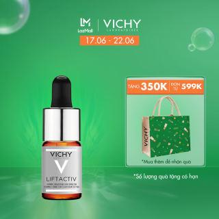 Dưỡng chất (serum) 15% Vitamin C nguyên chất giúp làm sáng và cải thiện làn da lão hóa Vichy Lifactiv Vitamin C 10ml
