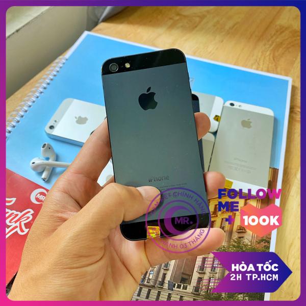 Điên thoại Apple iPhone 5-16 G QUỐC TẾ  LIÊN QUÂN , FF OK TẶNG CỦ SẠC+ DÂY SẠC - Điện thoại smartphone giá rẻ MR CAU
