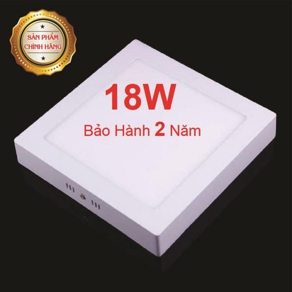 Đèn LED ốp trần vuông 18W