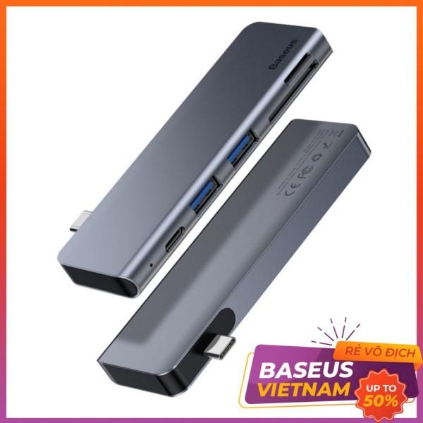 Bảng giá Hub chuyển đổi 5 trong 1 Baseus LV396 (CAHUB) Phong Vũ
