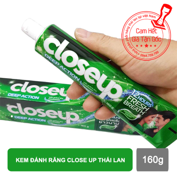 Kem đánh răng Close Up thái lan 160g - Hàng chính hãng giá rẻ