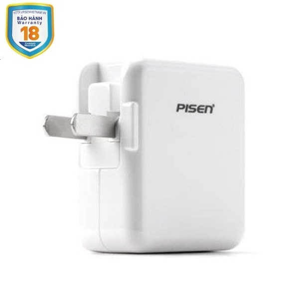 Sạc Pisen USB Charger 2A (Smart )
