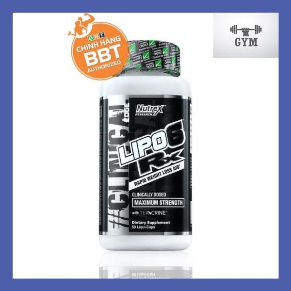 Nutrex Lipo-6 RX Viên Uống Đốt Mỡ Cao Cấp (60 Viên)
