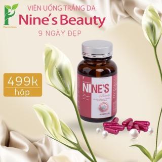 Viên uống trắng da Nine s Beauty - chỉ sau 9 ngày dùng làn da trắng đẹp rạng ngời thumbnail