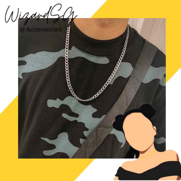 [Mã DC011KN]Dây chuyền hợp kim nhôm phong cách hiphop dành đủ loại mọi thời trang.