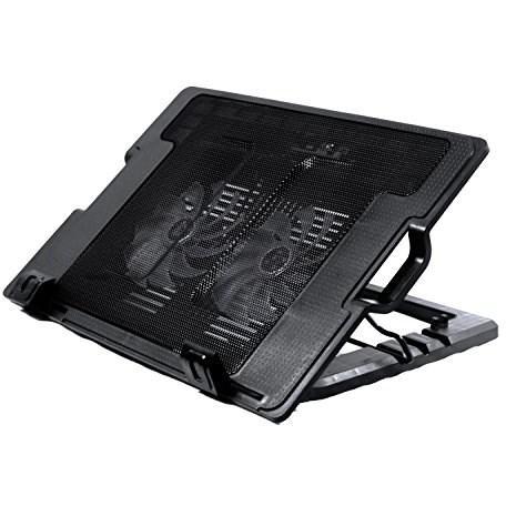Quạt Tản Nhiệt Laptop N182 -2 quạt dùng cho laptop 14-17 in