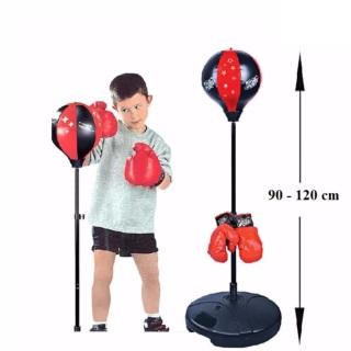 Bộ đồ chơi boxing đấm bốc thể thao cho bé - Bộ đấm bốc cho bé và người lớn, thumbnail