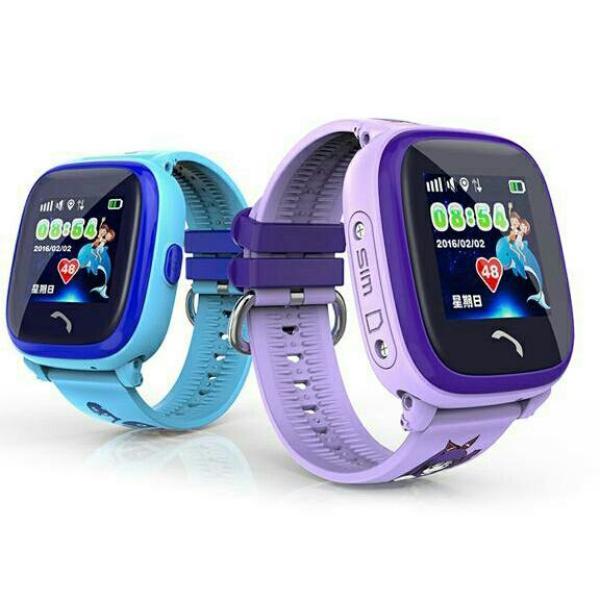 Đồng hồ định vị trẻ em chống nước DF25(xanh) bán chạy
