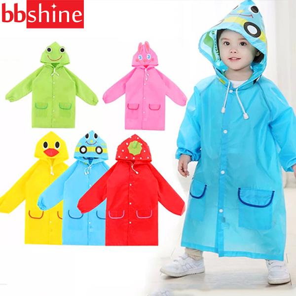Giá bán Áo mưa trẻ em xuất Nhật hình thú vui nhộn cho bé 2-7 tuổi BBShine – AM001