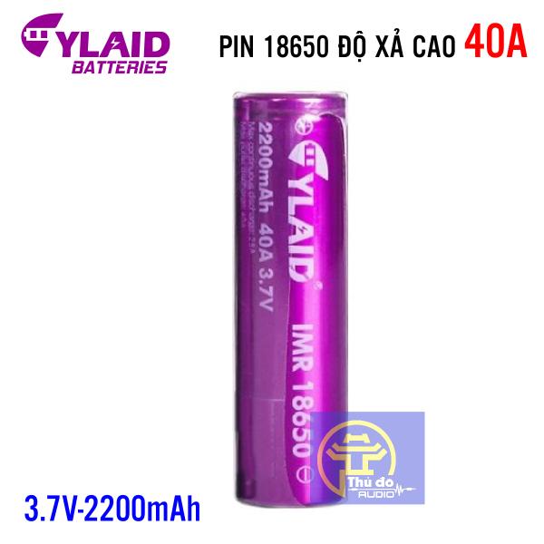 01 Viên Pin Cylaid 2200mah 40a 3,7v dòng xả cao mới 100% ( đơn giá 1 viên)