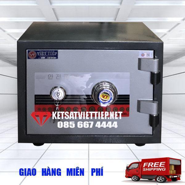 Két sắt Việt Tiệp cánh đúc KVC28 khóa cơ-C28*R37*S31cm-30kg-Công ty két sắt Việt tiệp uy tín