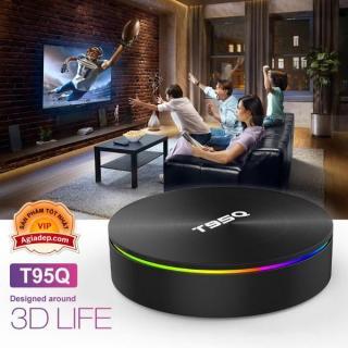TVBOX siêu máy tính 4K T95Q-SX S905X2 Android 8.1 Hỗ trợ Gigabit 5G WIFI Bluetooth 4G - tivibox mạnh số1 thumbnail