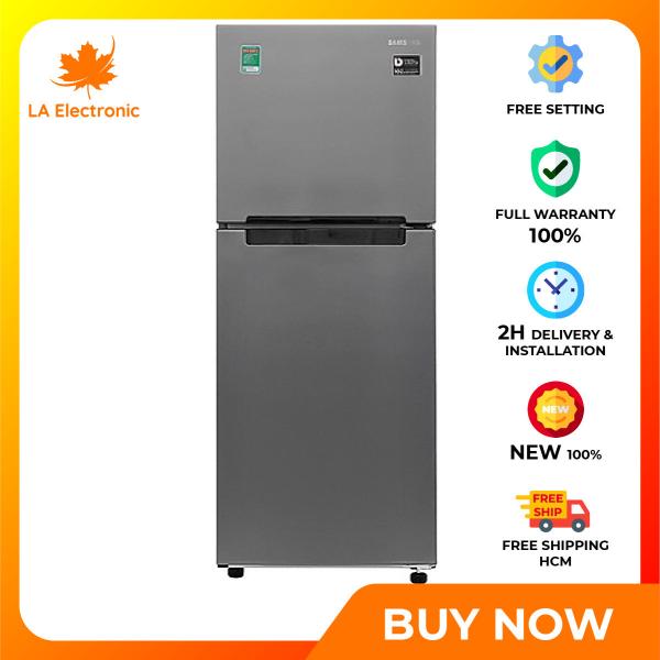 Trả Góp 0% - Tủ Lạnh Samsung Inverter 208 lít RT19M300BGS/SV, Công nghệ Deodorizer kháng khuẩn, khử mùi, làm lạnh hiệu quả với luồng khí lạnh đa chiều - Bảo hành 12 tháng.- Bảo hành 2 năm - Miễn phí vận chuyển HCM