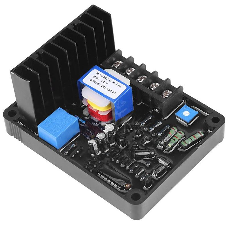 Giá Brush Type Generator Three Phase AVR GB-170 Automatic Voltage Regulator Suitable for STC Three-Phase 220/380/400 VAC Voltage Generator