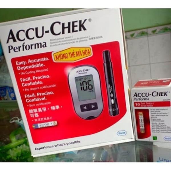 Máy Đo Đường Huyết Accu-Check Performa [Tặng Hộp Que Thử 10 Que] bán chạy