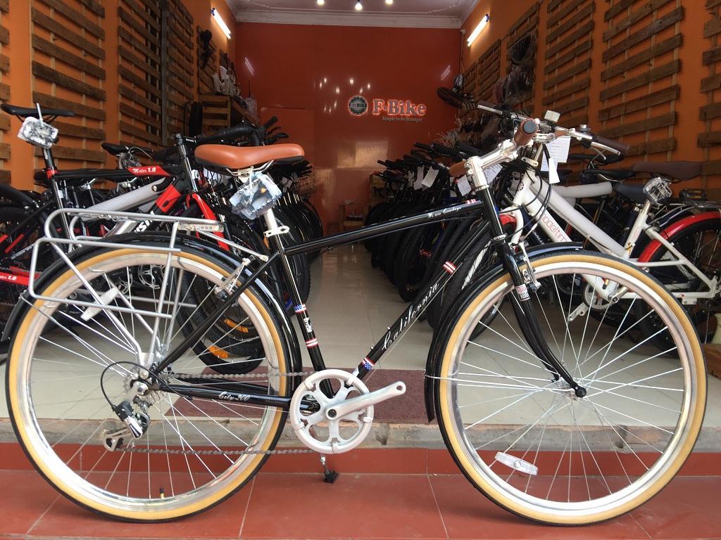 Mua Xe Đạp California City 200 - Thương Hiệu Đến Từ Mỹ - Khung Hợp Kim Thép Pha Carbon - Bộ Chuyển Động Shimano Tourney TY21 6 Tốc Độ