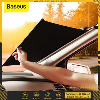 Màn kéo che nắng cửa kính trước dùng cho xe ô tô Baseus Auto Close Car Front Window Sunshade (58 64Cm, Retractable Windshield Sun Shade with Suction Cup for Car Front Window) thumbnail