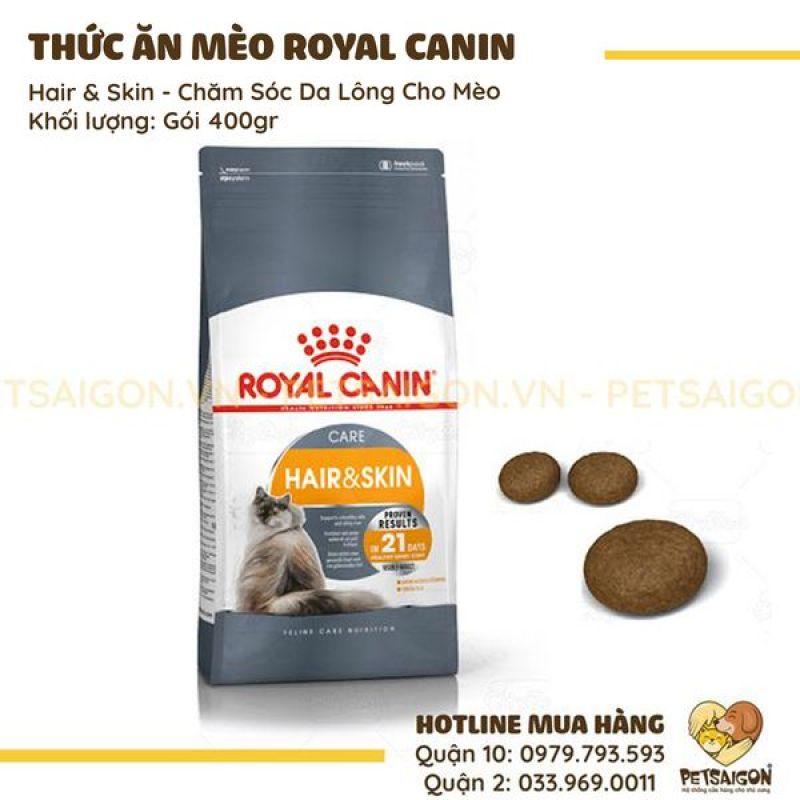 ROYAL CANIN - HAIR & SKINCARE CHĂM SÓC DA LÔNG CHO MÈO