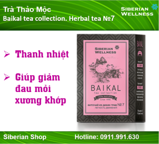 Trà thảo mộc Baikal tea collection. Herbal tea 7 thumbnail