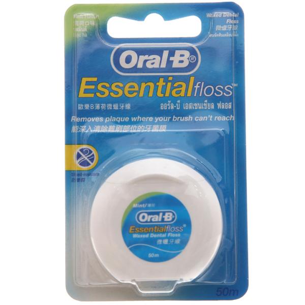 Chỉ nha khoa Oral-B bạc hà 50m -  SM0109 -  SIBMART
